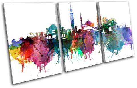 Cairo Watercolour  Abstract City - 13-6035(00B)-TR21-LO